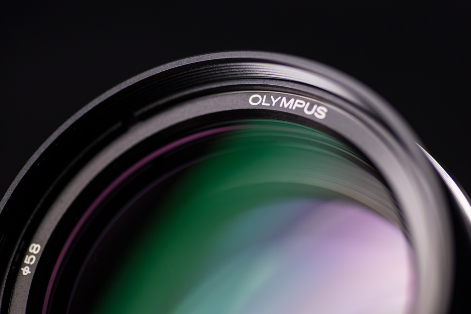 Olympus 75mm f/1.8 — Front Element