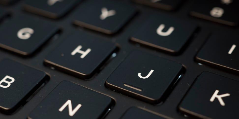 Dell XPS 13 2017 Keyboard