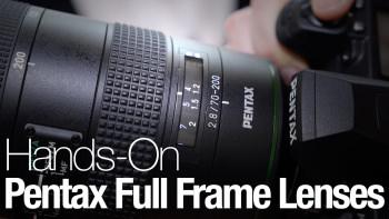 1242911077001 4321975939001 pentax full frame lenses