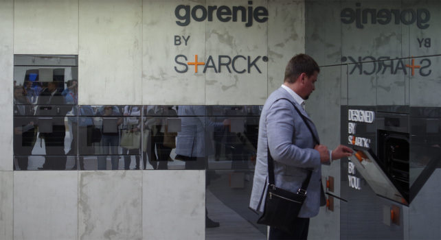 Philippe Starck for Gorenje Oven