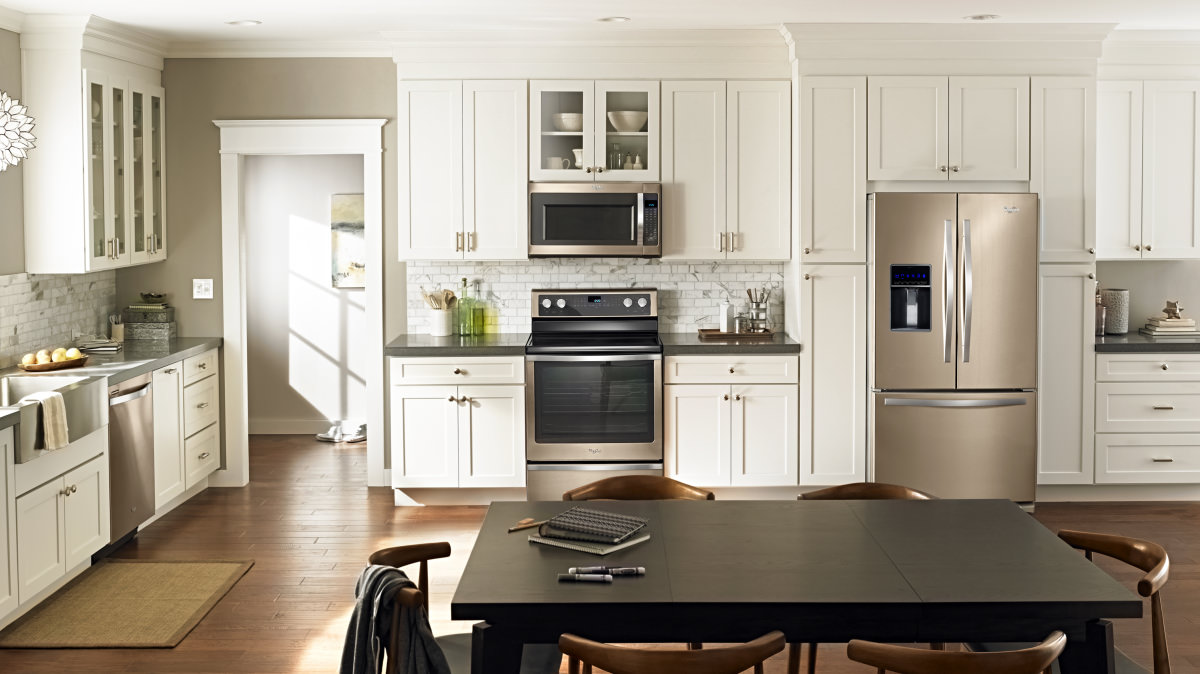 Matching Kitchen Appliances Whirlpool Says Stainless Is Out Sunset Bronze Is In Reviewed