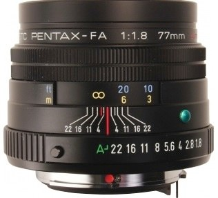 Product Image - Pentax smc Pentax FA 77mm f/1.8 Limited