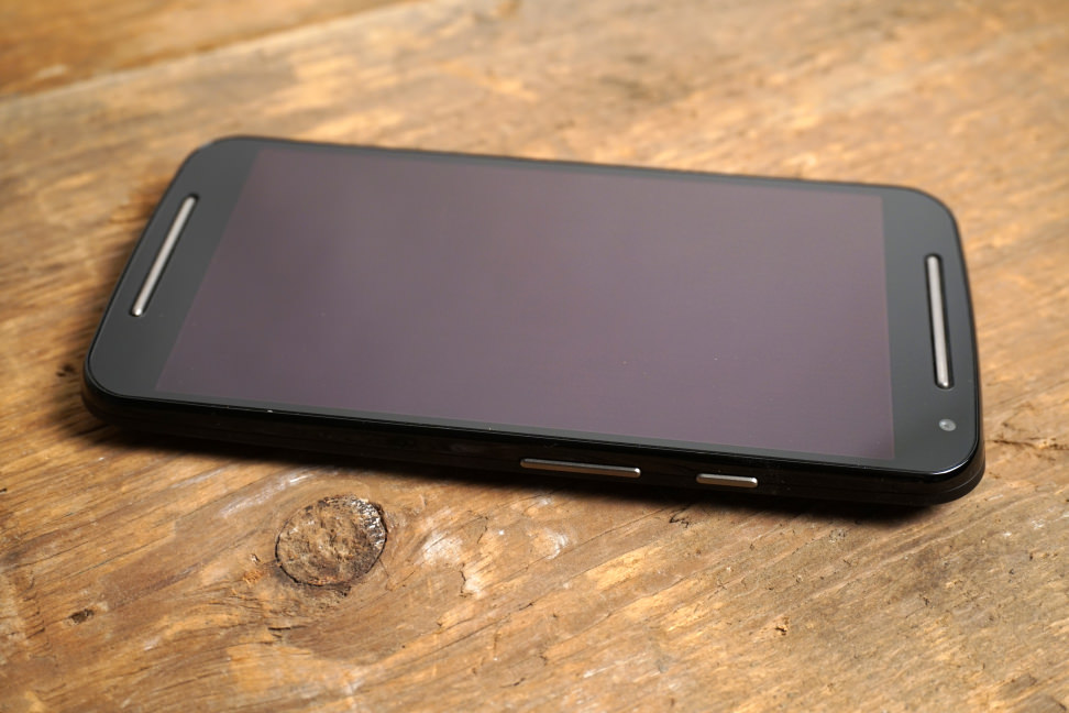 Motorola Moto G screen