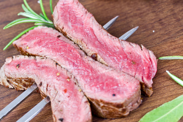 Medium steak