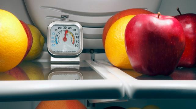 Refrigerator temperature settings