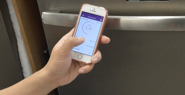 GE Profile Dishwasher and app
