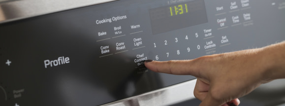 Ge chef connect touch control hero 1