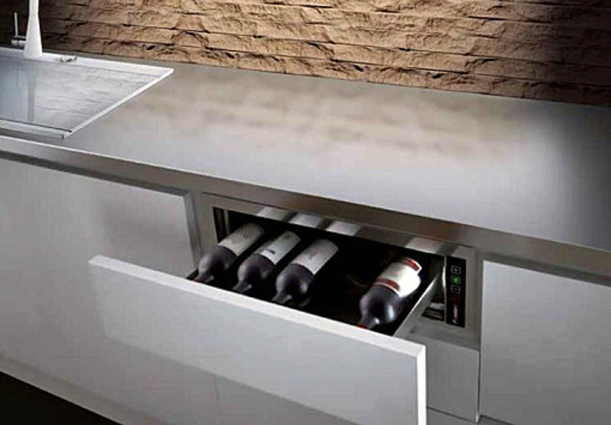 The Plados Pandora Drawer Puts Wine At Your Fingertips