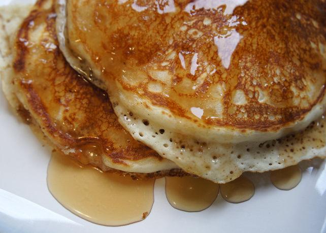 Snow pancakes