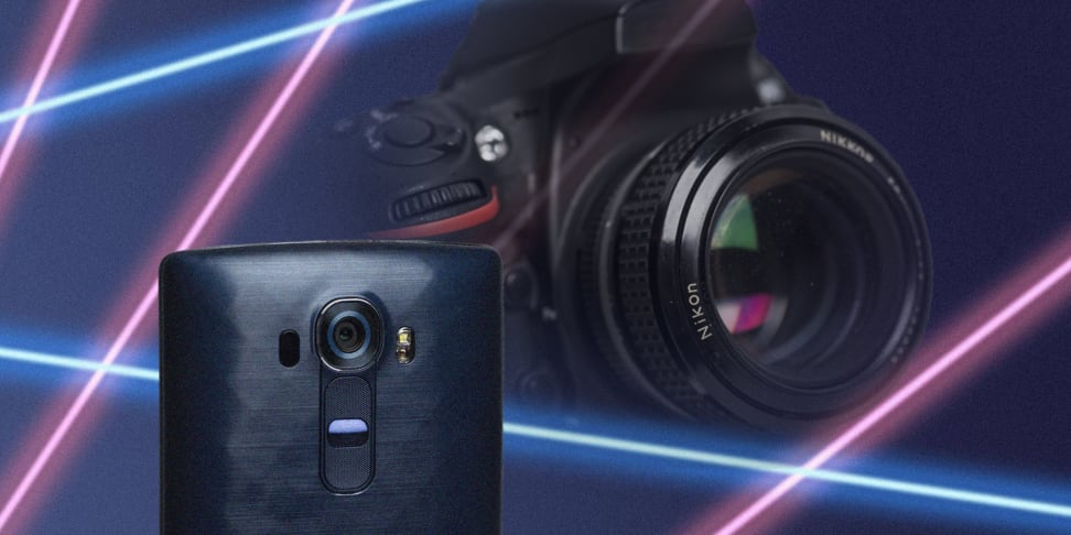 LG G4 Lasershow