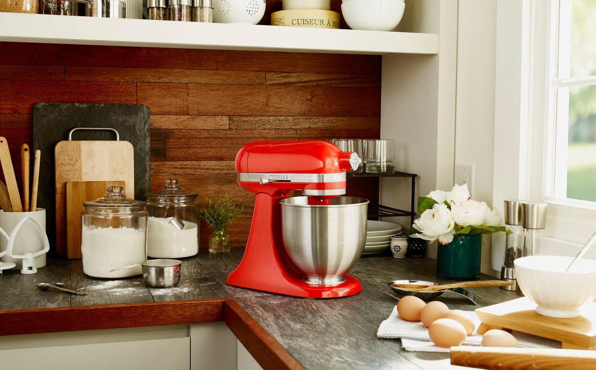 Kitchenaid Debuts Artisan Mini Stand Mixer Reviewed Com