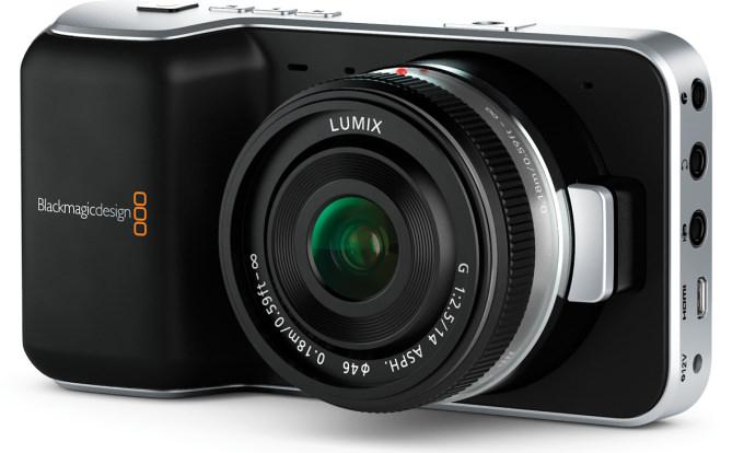 Product Image - Blackmagic Pocket Cinema Camera