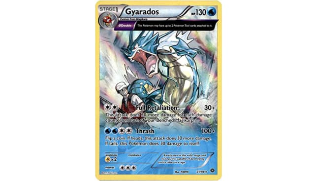Pokemon - Gyarados (21/98) - Ancient Origins - Holo