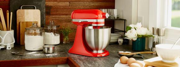 Kitchenaid mini stand mixer hero