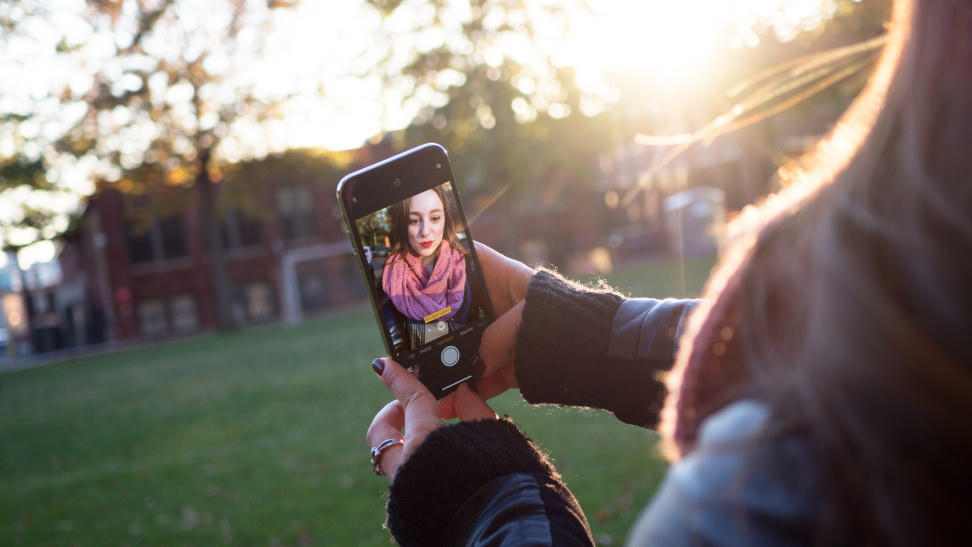 Apple iPhone X Selfie