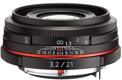 Product Image - Pentax HD Pentax DA 21mm f/3.2 AL Limited