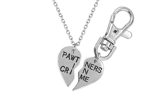 Lux Accessories Pawtners in Crime BFF Set