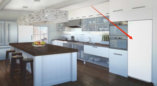Everblume kitchen rendering