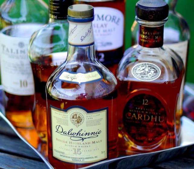 Bottles of Whiskey