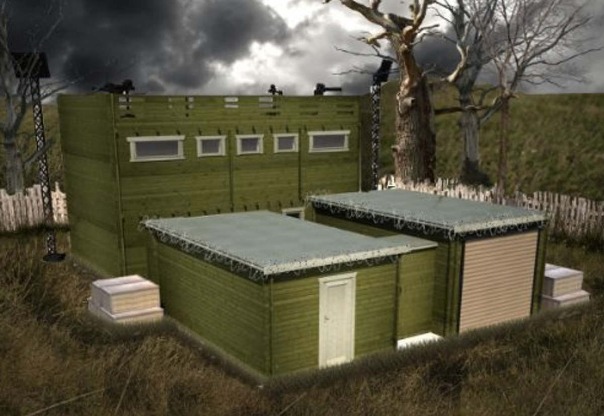 Zombie Proof Cabin Is Perfect For Doomsday Preppers