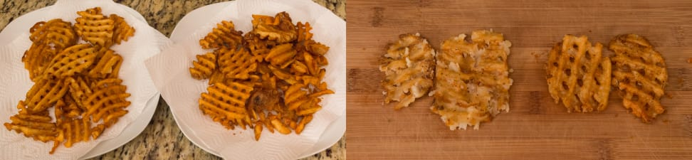 Waffle Fry Tests