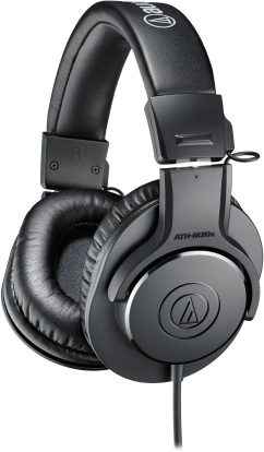 Product Image - Audio-Technica ATH-M20x