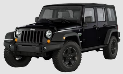 Product Image - 2012 Jeep Wrangler Unlimited Call of Duty: MW3 Edition