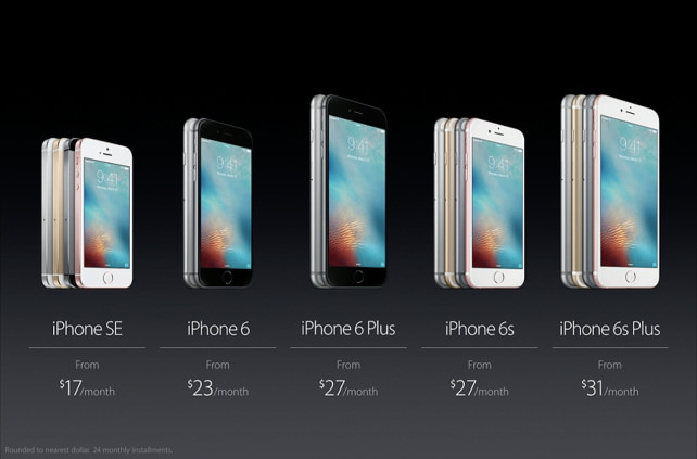 Apple iPhone SE Pricing