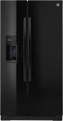 kenmore black refrigerator. product image - kenmore 51769 black refrigerator