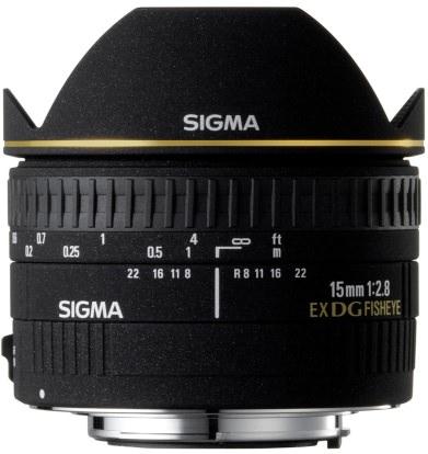 Product Image - Sigma 15mm f/2.8 EX DG Diagonal Fisheye