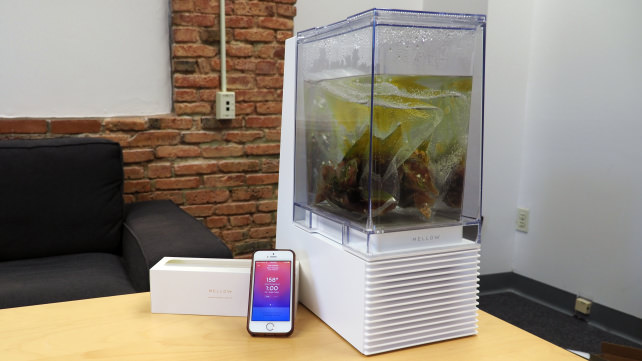 Mellow sous vide machine and app