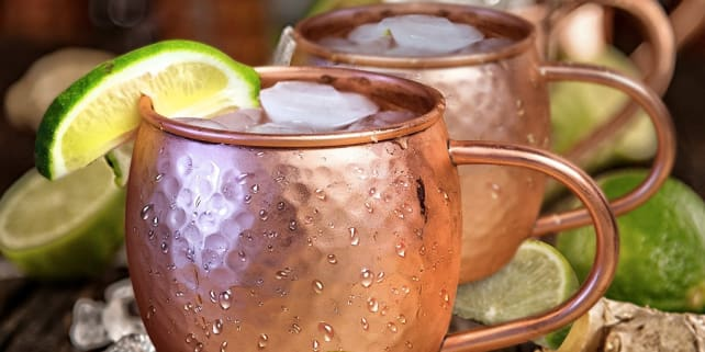 Moscow Mule mid-text