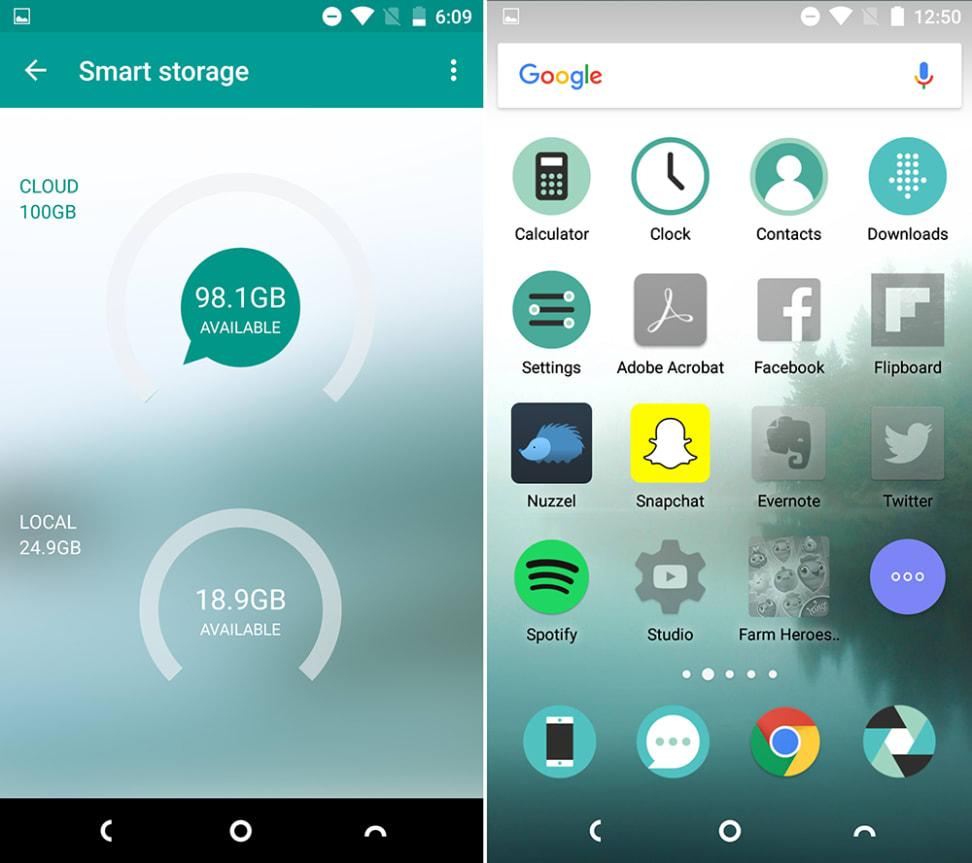 Nextbit Robin Storage Screenshots