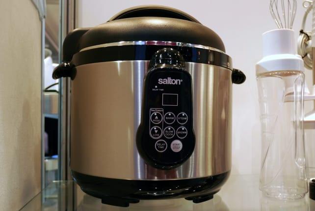 Salton pressure cooker