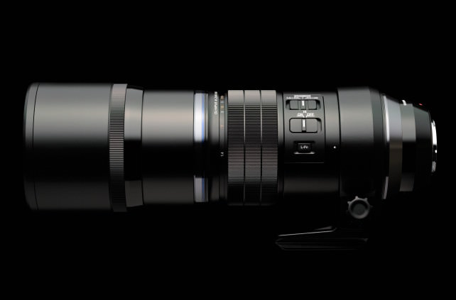 Olympus M. Zuiko 300mm f/4 Pro Telephoto lens