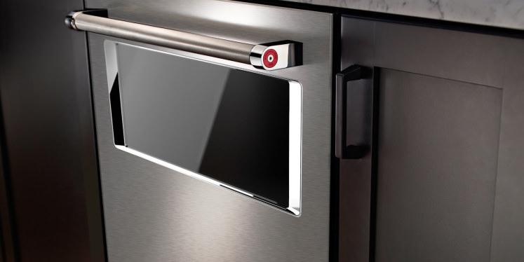Kitchenaid Appliances 2015 finally, a dishwasher with a window! - reviewed dishwashers