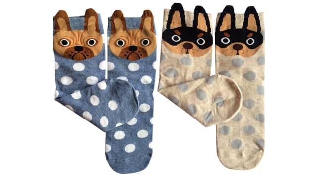 ArtFashion Dog Socks