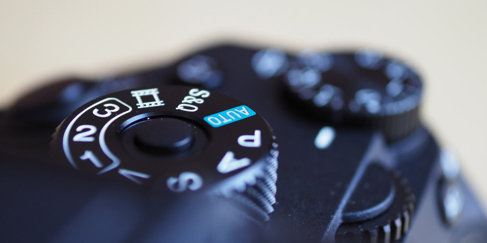 Sony A9 Dial