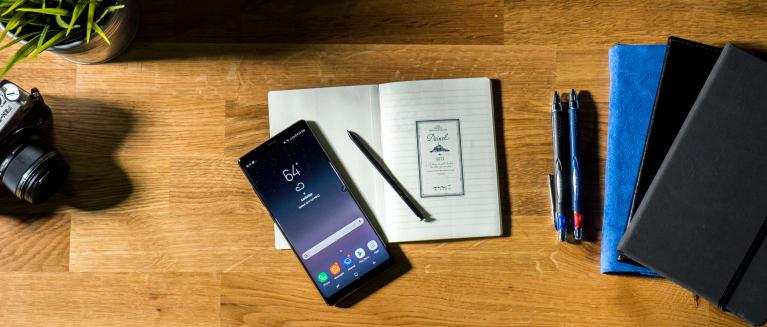 Samsung galaxy note 8 hero