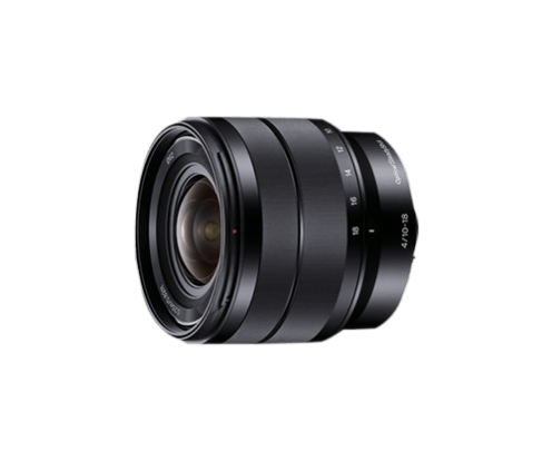 Product Image - Sony E 10-18mm f/4 OSS E-mount Wide Zoom Lens