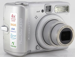 Product Image - Canon PowerShot A510