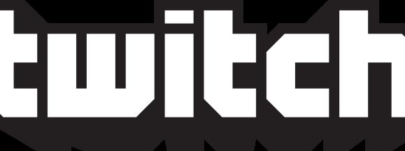 Twitch logo black
