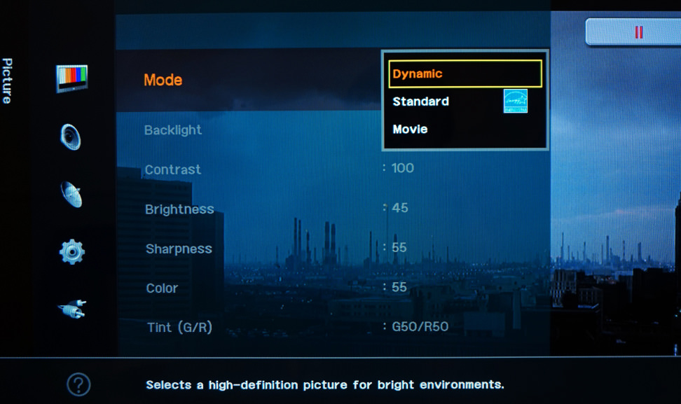 TV-Calibration-Picture-Modes
