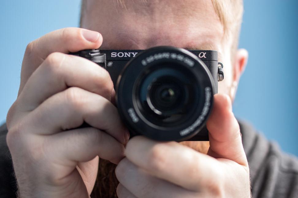 Sony Alpha A6300 Handheld