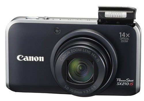 Product Image - Canon PowerShot SX210 IS