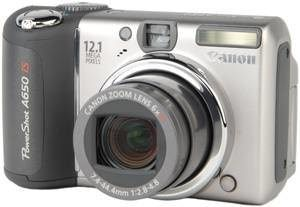 Product Image - Canon PowerShot A650 IS