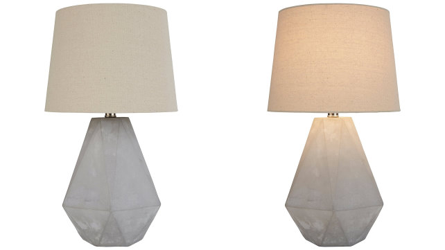 Rivet Concrete Table Lamp