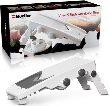Product Image - Müeller Austria V-Pro 5 Blade Adjustable Mandoline Slicer