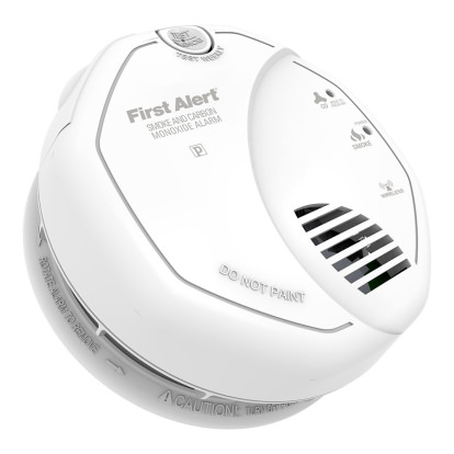 Product Image - First Alert Z-Wave Enabled Smoke & Carbon Monoxide Combo Alarm