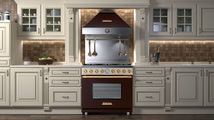 Tecnogas Art Deco Ranges For Luxe Homes Reviewed Com Ovens
